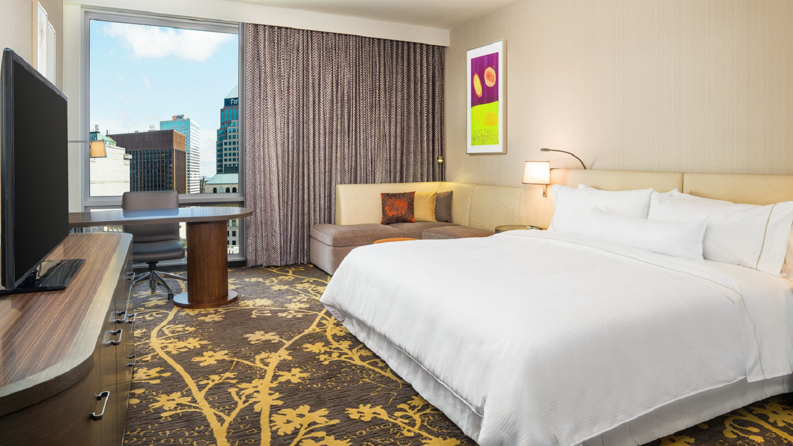 Cleveland Accommodations - Club Level Guest Room